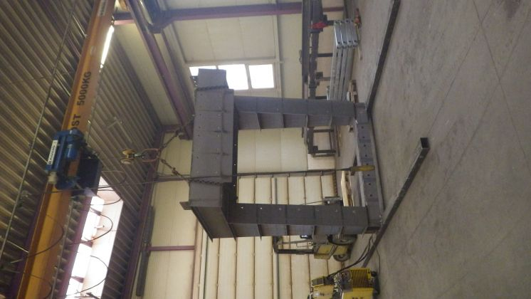 Adjust of chute for new disc sorter for Velkolom Čertovy Schody